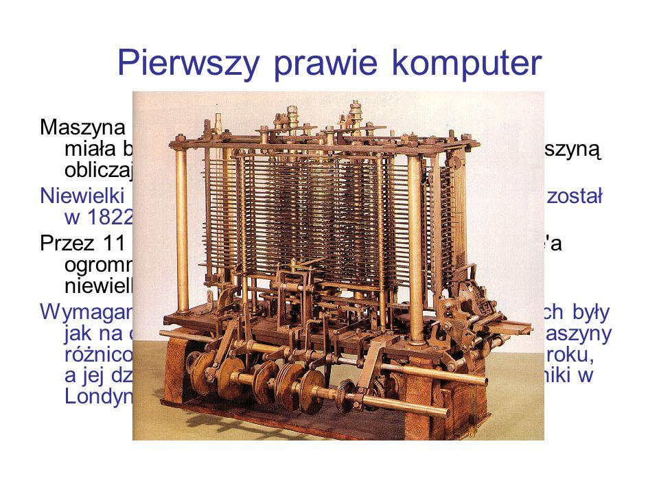 Pierwszy prawie komputer