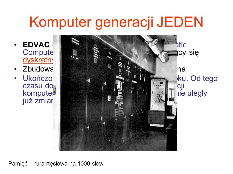 Komputer generacji JEDEN
