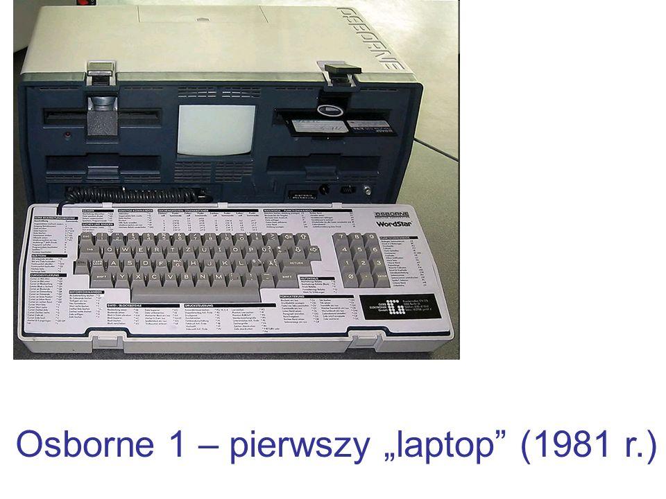 """Osborne 1 – pierwszy """"laptop (1981 r.)"""