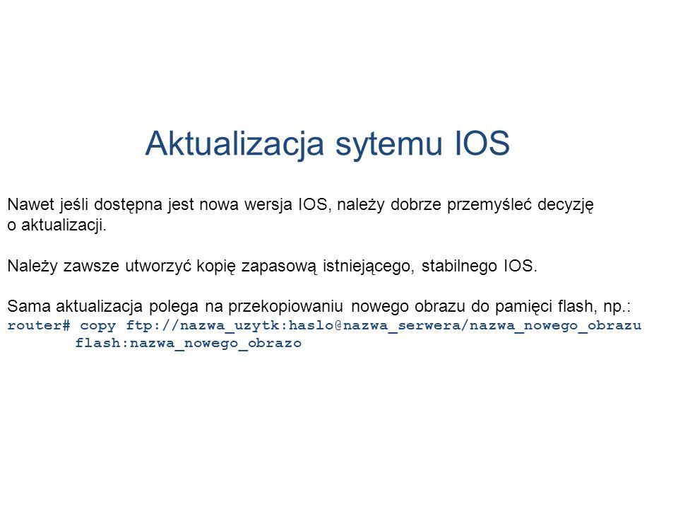 Aktualizacja sytemu IOS