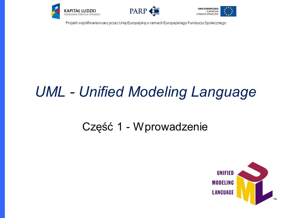 UML - Unified Modeling Language