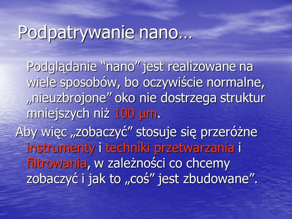 Podpatrywanie nano…