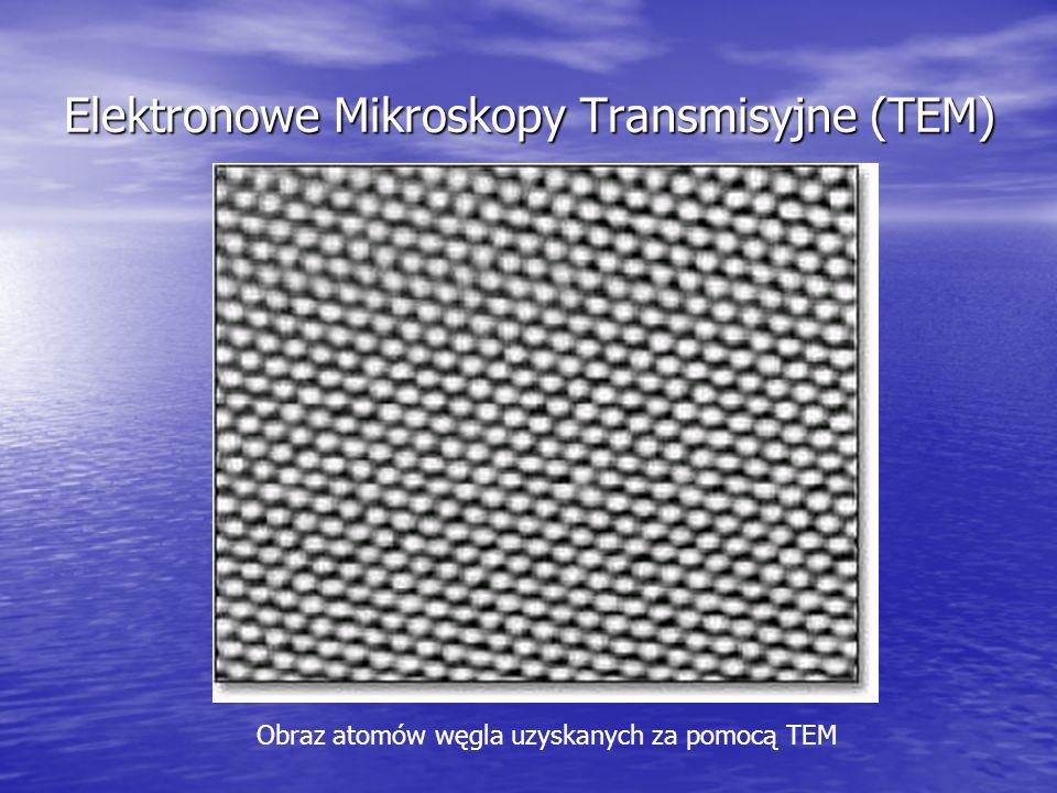 Elektronowe Mikroskopy Transmisyjne (TEM)