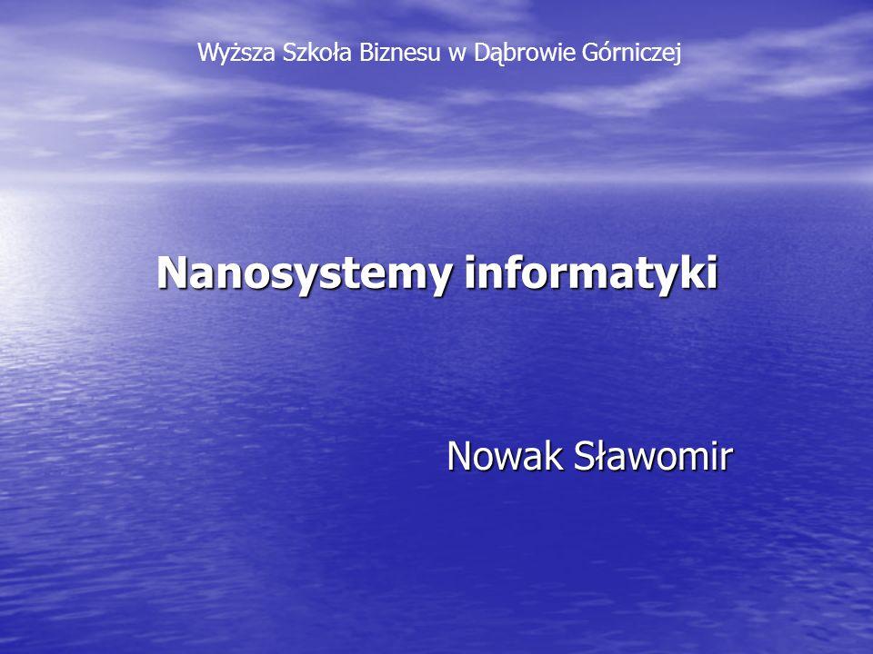 Nanosystemy informatyki