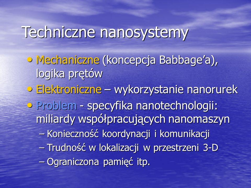 Techniczne nanosystemy