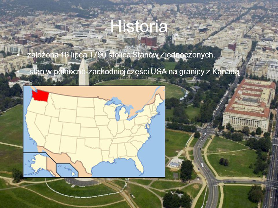 Historia założona 16 lipca 1790 stolica Stanów Zjednoczonych.