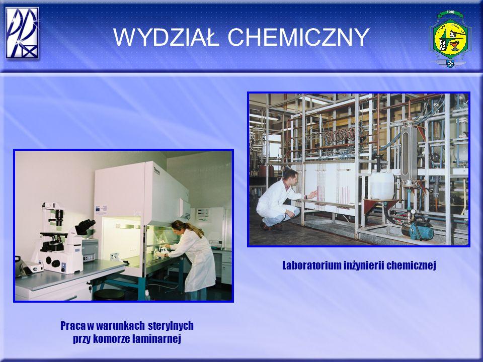 WYDZIAŁ CHEMICZNY Laboratorium inżynierii chemicznej