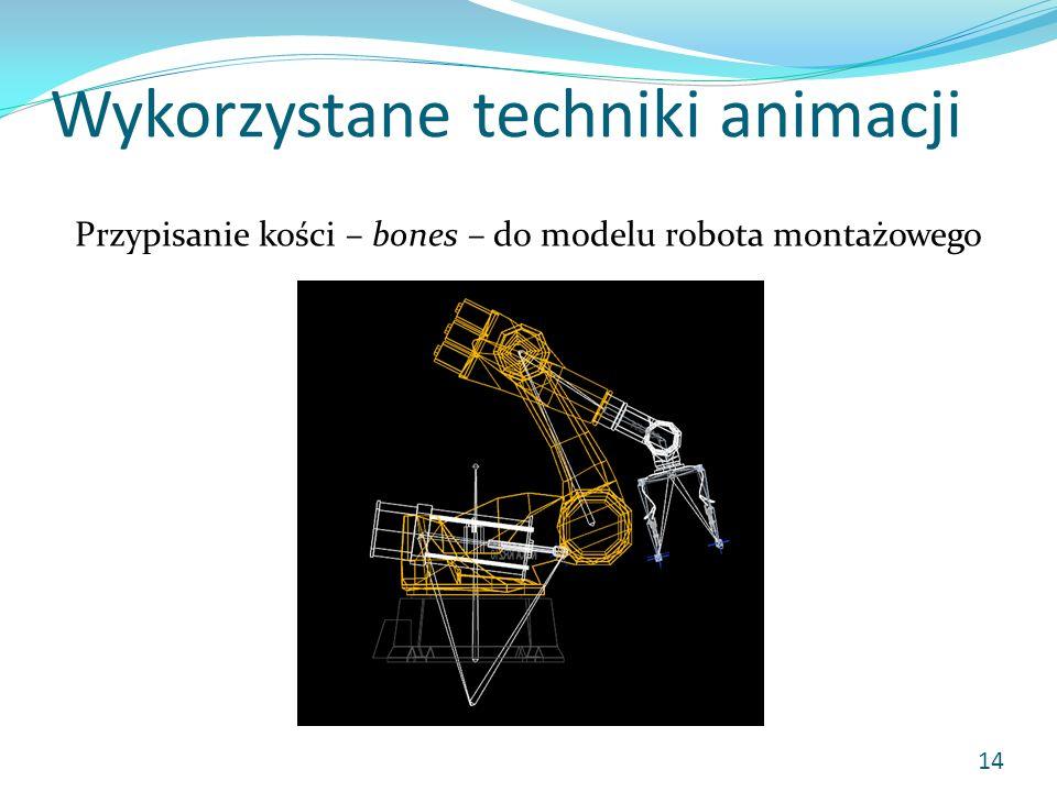 Wykorzystane techniki animacji
