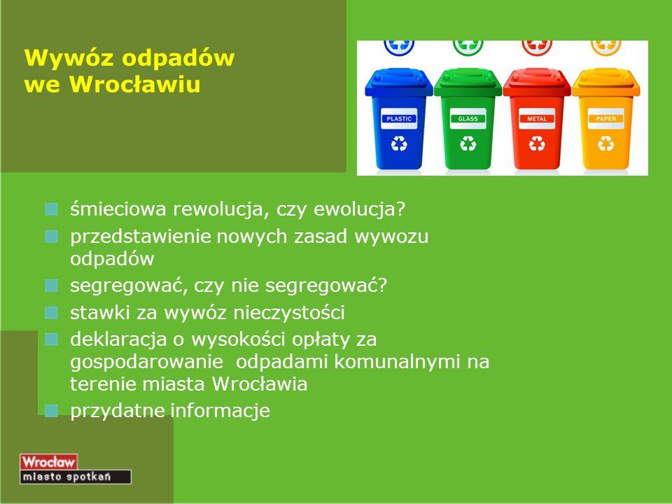 Wywóz odpadów we Wrocławiu