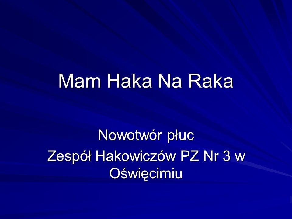 Nowotwór płuc Zespół Hakowiczów PZ Nr 3 w Oświęcimiu