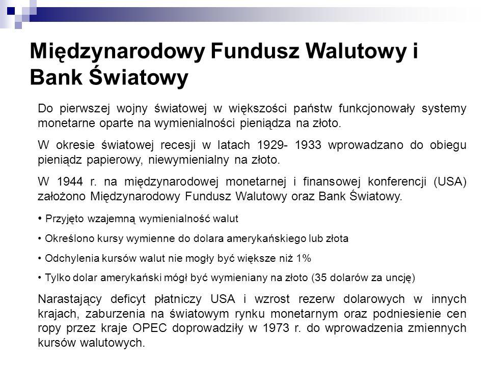Międzynarodowy Fundusz Walutowy i Bank Światowy