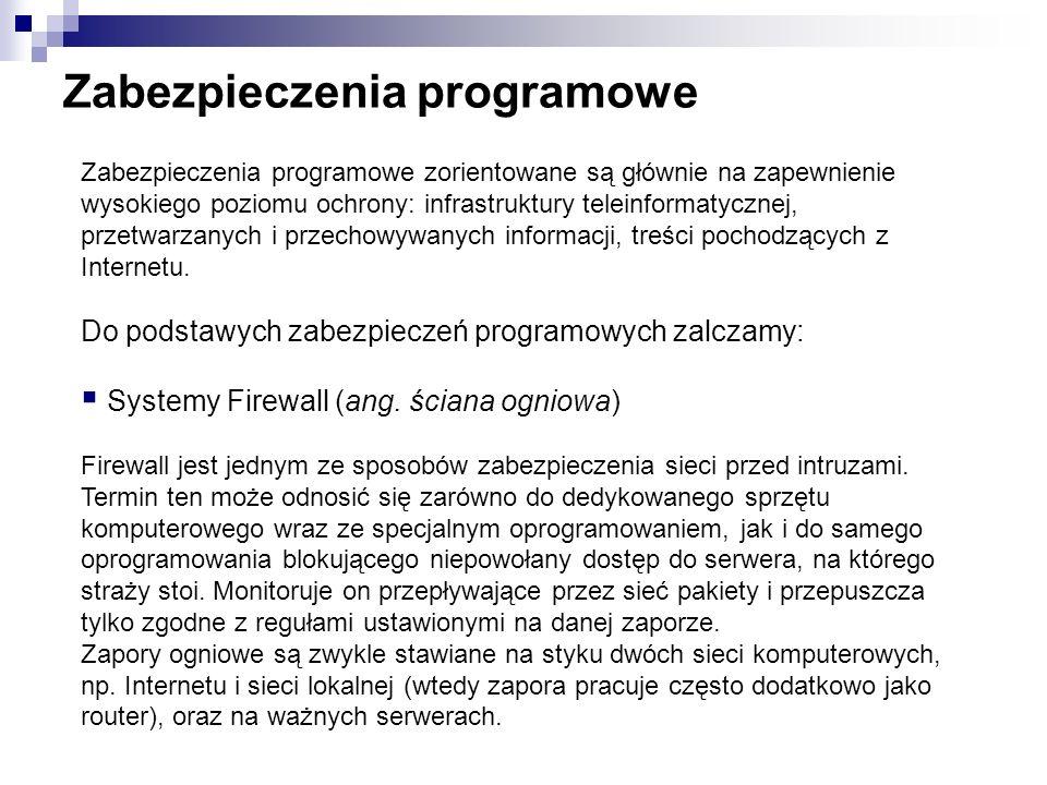 Zabezpieczenia programowe