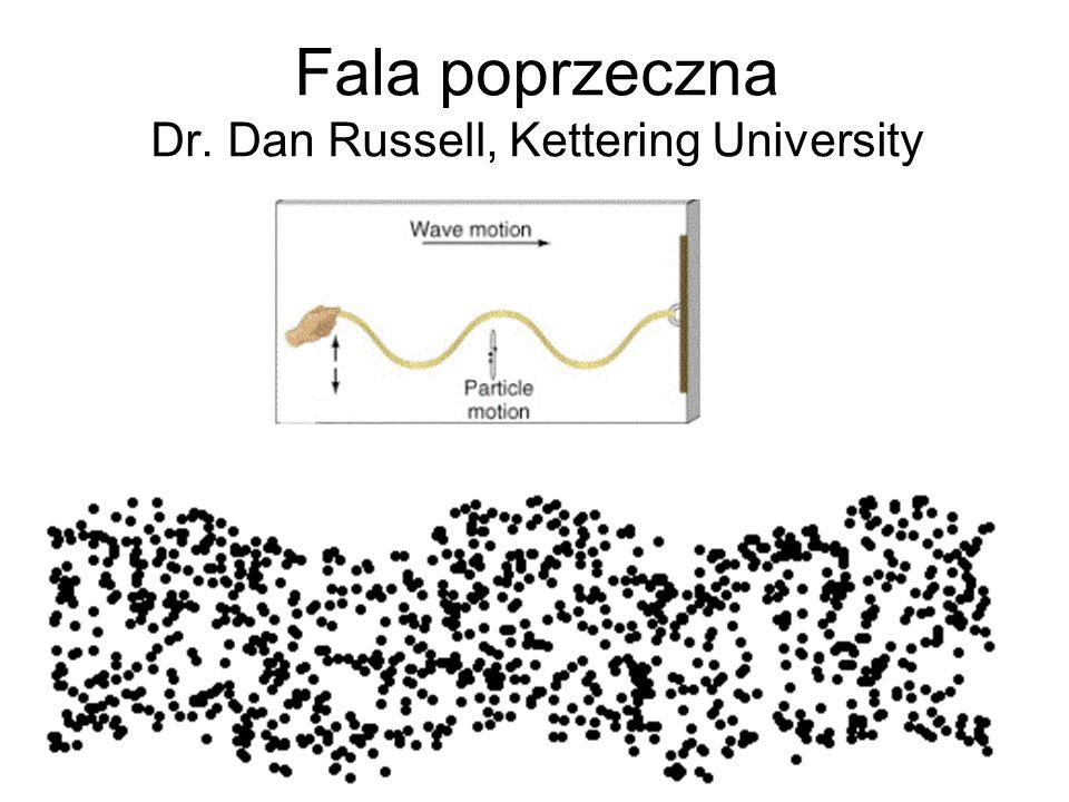 Fala poprzeczna Dr. Dan Russell, Kettering University