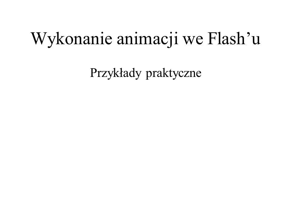 Wykonanie animacji we Flash'u
