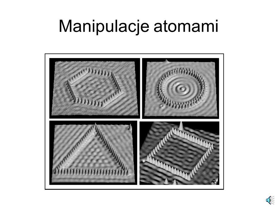 Manipulacje atomami
