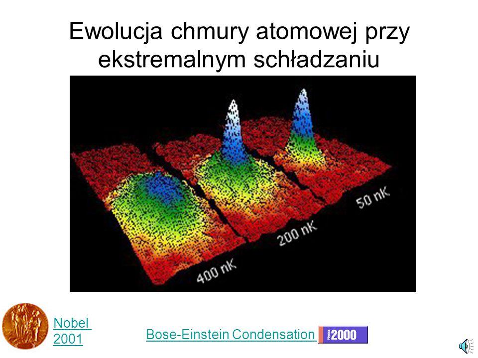Ewolucja chmury atomowej przy ekstremalnym schładzaniu