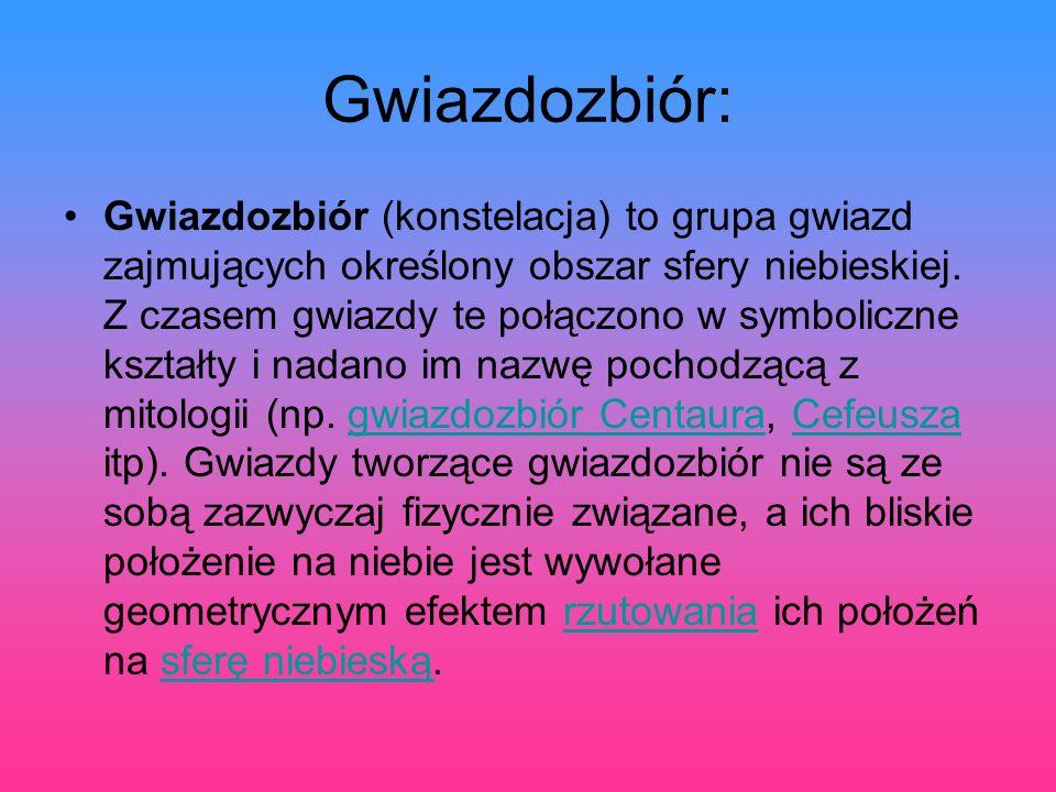 Gwiazdozbiór: