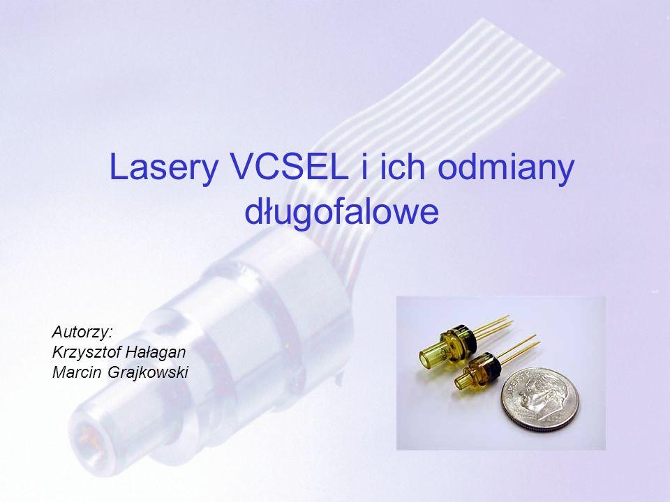 Lasery VCSEL i ich odmiany długofalowe