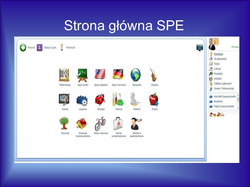 Strona główna SPE