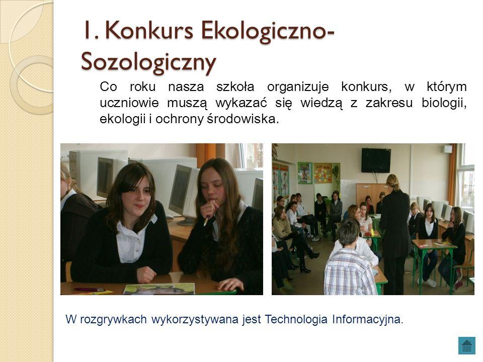 1. Konkurs Ekologiczno-Sozologiczny