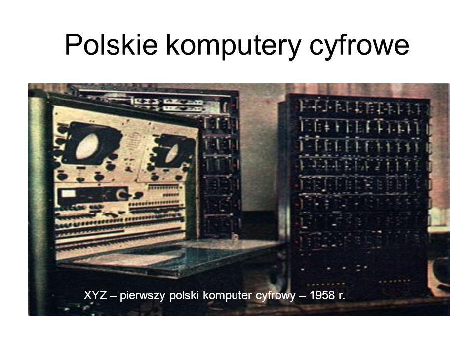 Polskie komputery cyfrowe