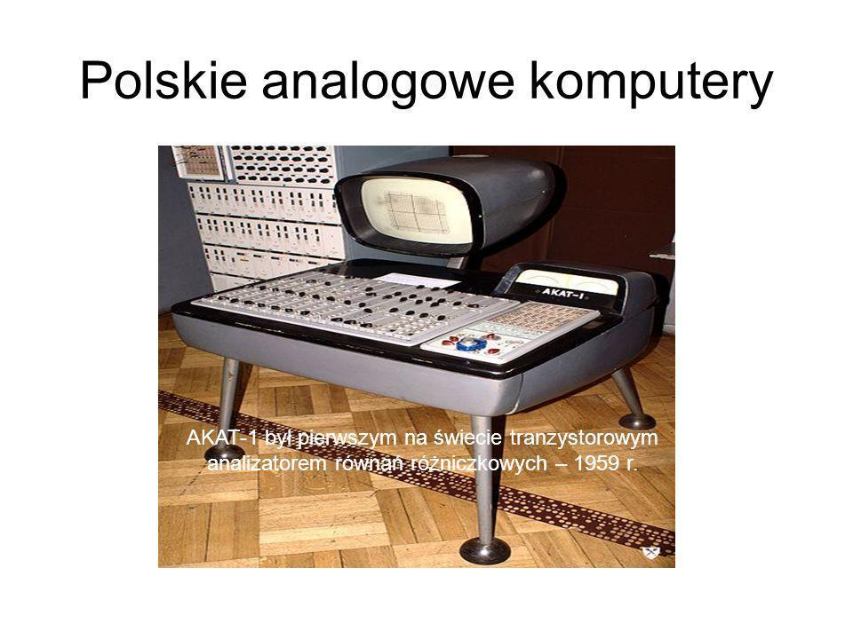 Polskie analogowe komputery
