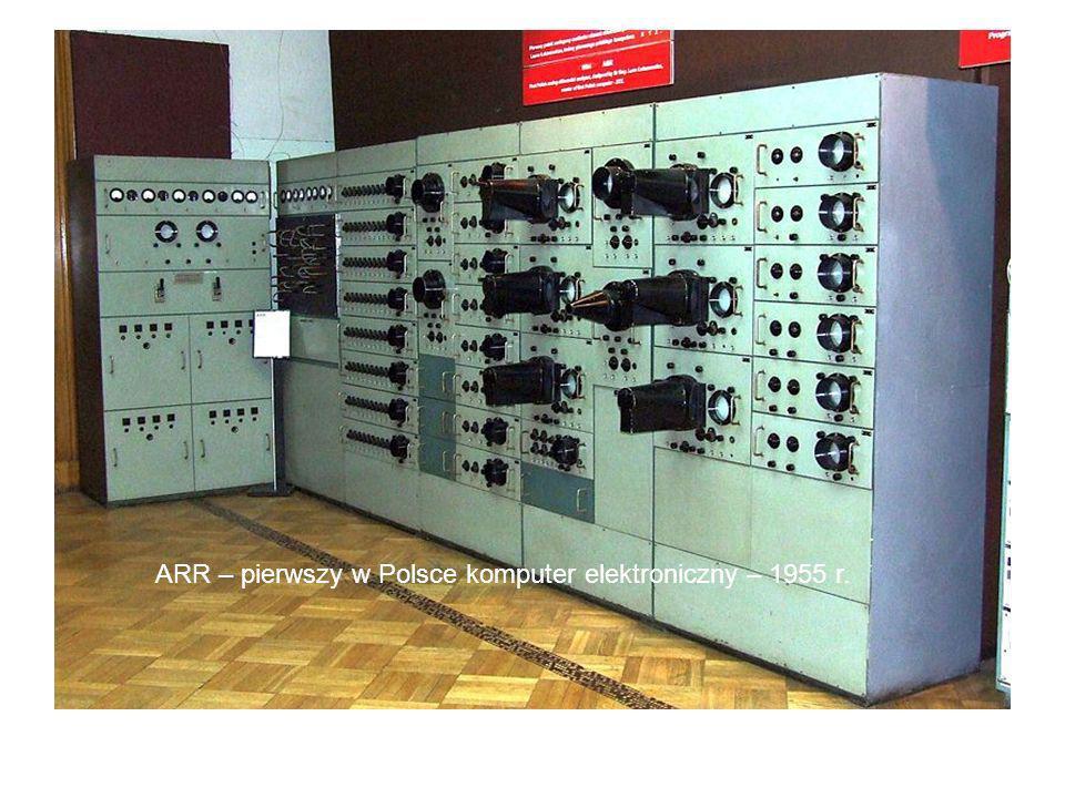 ARR – pierwszy w Polsce komputer elektroniczny – 1955 r.