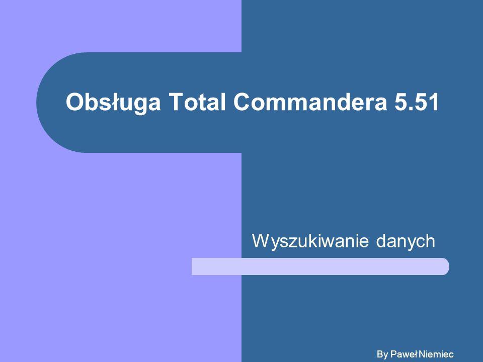 Obsługa Total Commandera 5.51
