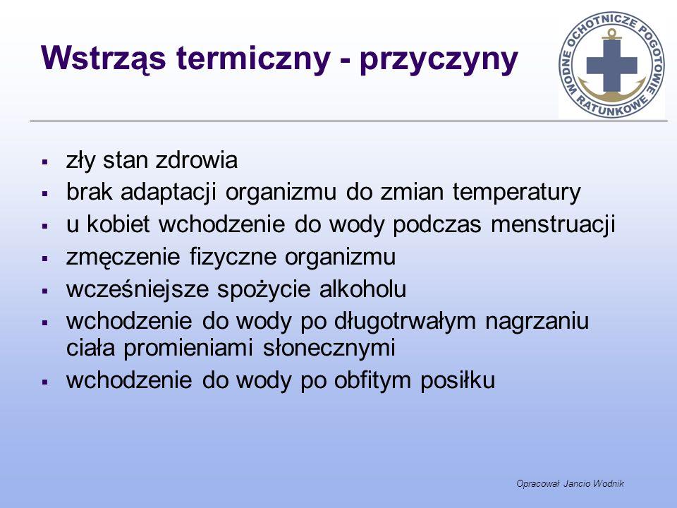 Wstrząs termiczny - przyczyny