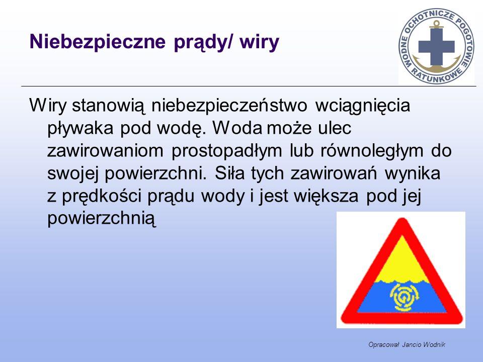 Niebezpieczne prądy/ wiry