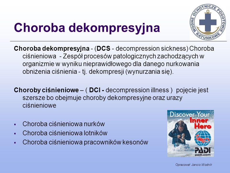 Choroba dekompresyjna
