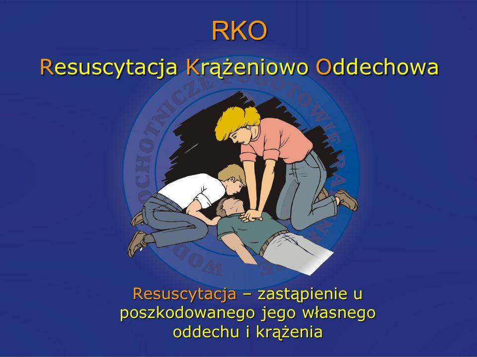 RKO Resuscytacja Krążeniowo Oddechowa
