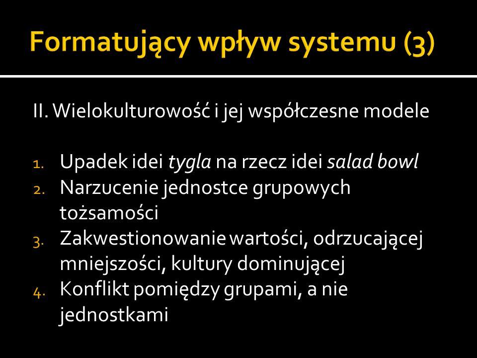 Formatujący wpływ systemu (3)