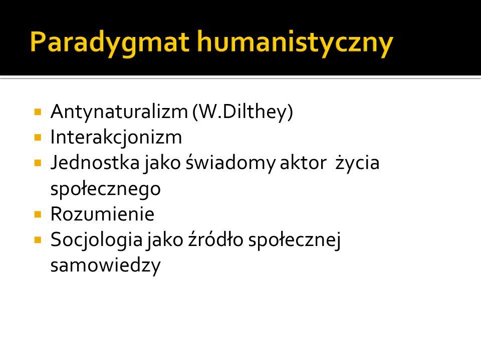 Paradygmat humanistyczny