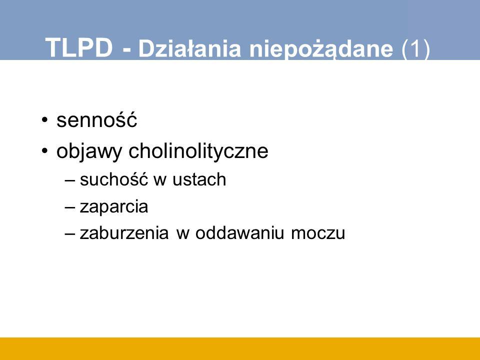 TLPD - Działania niepożądane (1)