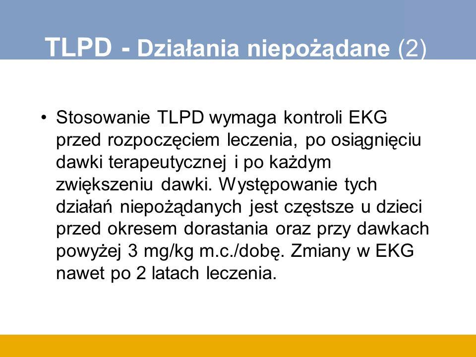 TLPD - Działania niepożądane (2)