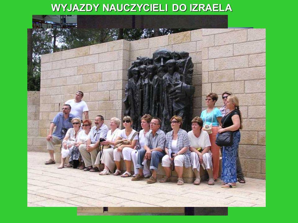 WYJAZDY NAUCZYCIELI DO IZRAELA