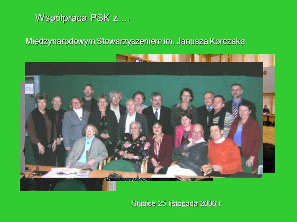 Współpraca PSK z … Miedzynarodowym Stowarzyszeniem im.