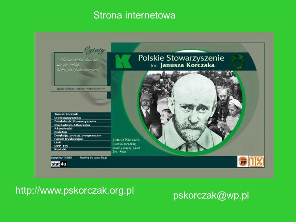 Strona internetowa http://www.pskorczak.org.pl pskorczak@wp.pl