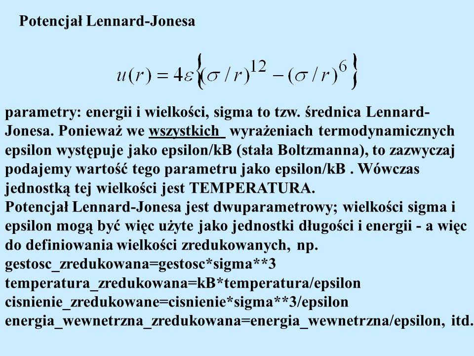Potencjał Lennard-Jonesa