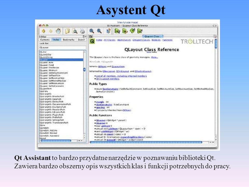 Asystent Qt