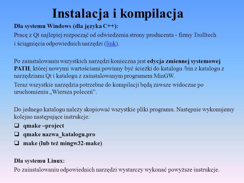 Instalacja i kompilacja