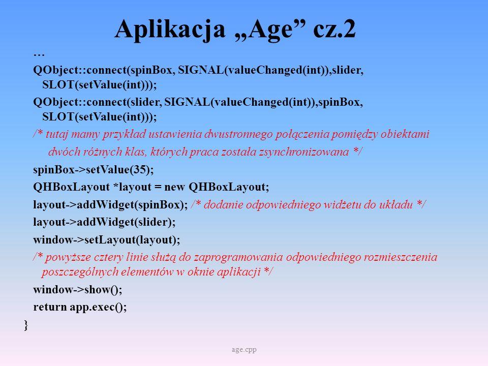 """Aplikacja """"Age cz.2"""