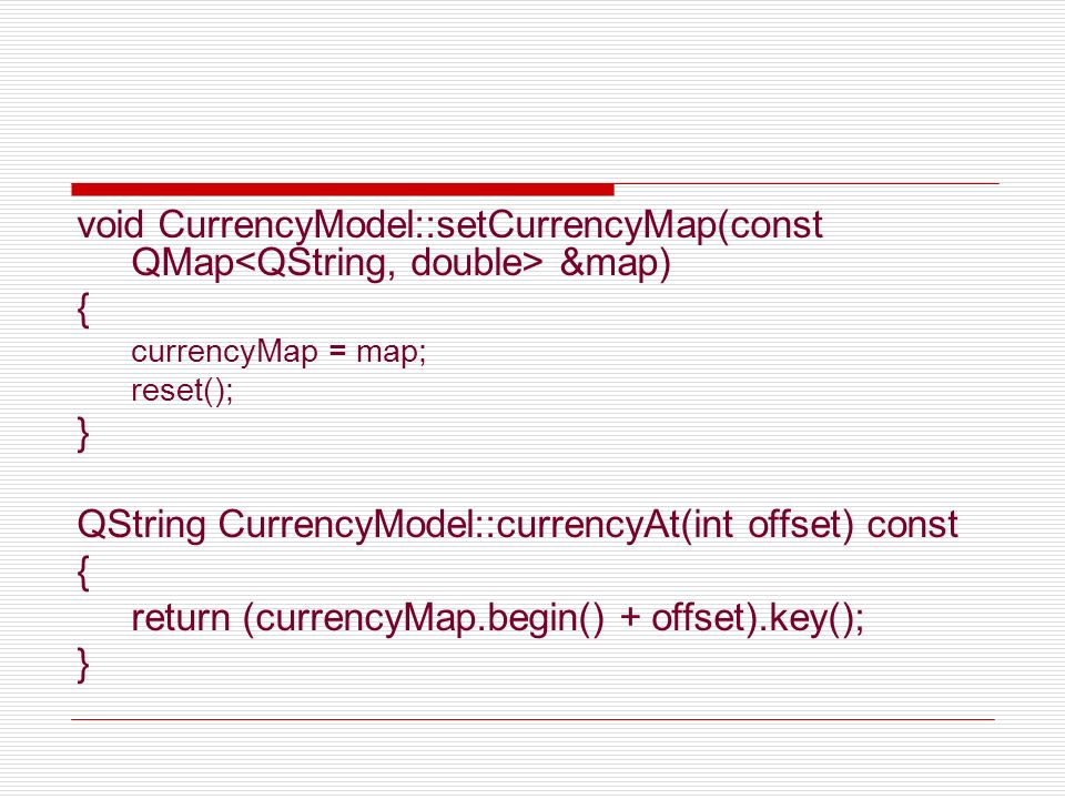 QString CurrencyModel::currencyAt(int offset) const
