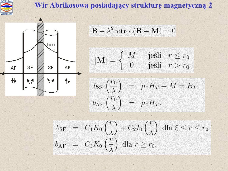 Wir Abrikosowa posiadający strukturę magnetyczną 2
