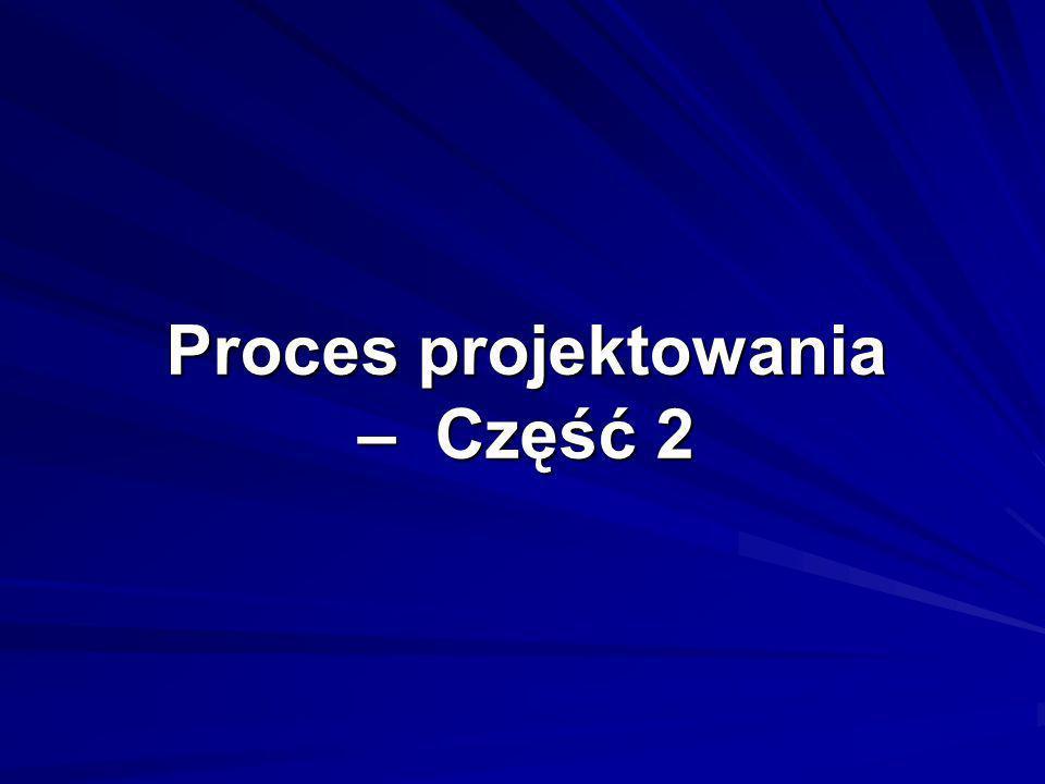 Proces projektowania – Część 2