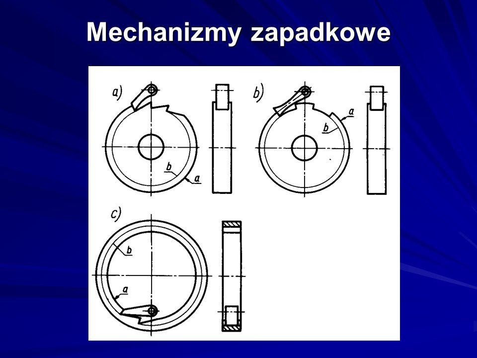 Mechanizmy zapadkowe