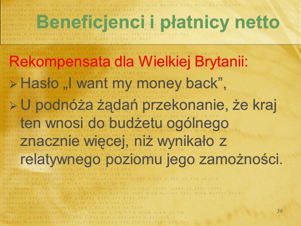 Beneficjenci i płatnicy netto