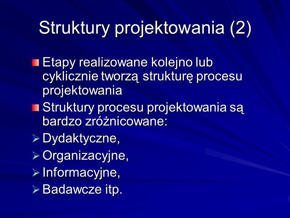 Struktury projektowania (2)