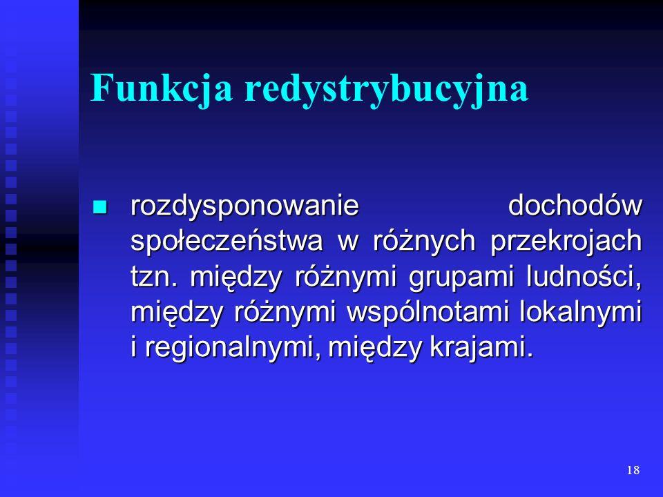 Funkcja redystrybucyjna